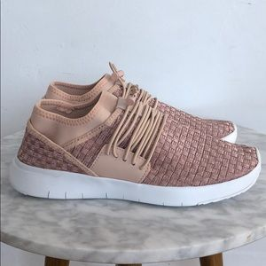 Rose Gold FitFlop Laceup Sneakers